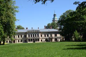 Zamek Komorowskich - Park Zamkowy w Żywcu
