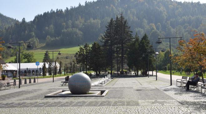 Plac św Jakuba w Szczyrku