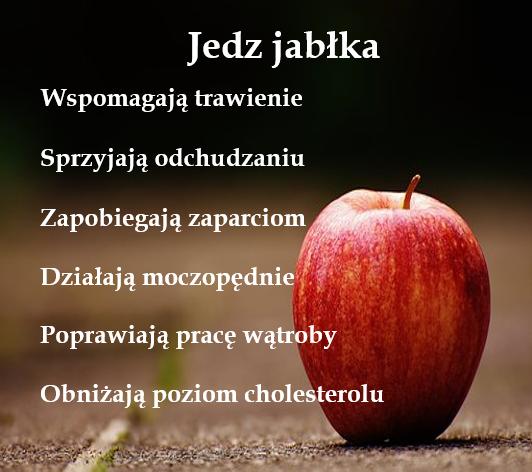 Jedz jabłka