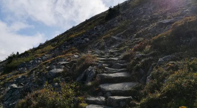Perc Akademikow - szlak na Babia Gore