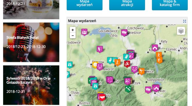 mapa-wydarzen-mapa-atrakcji-beskidy