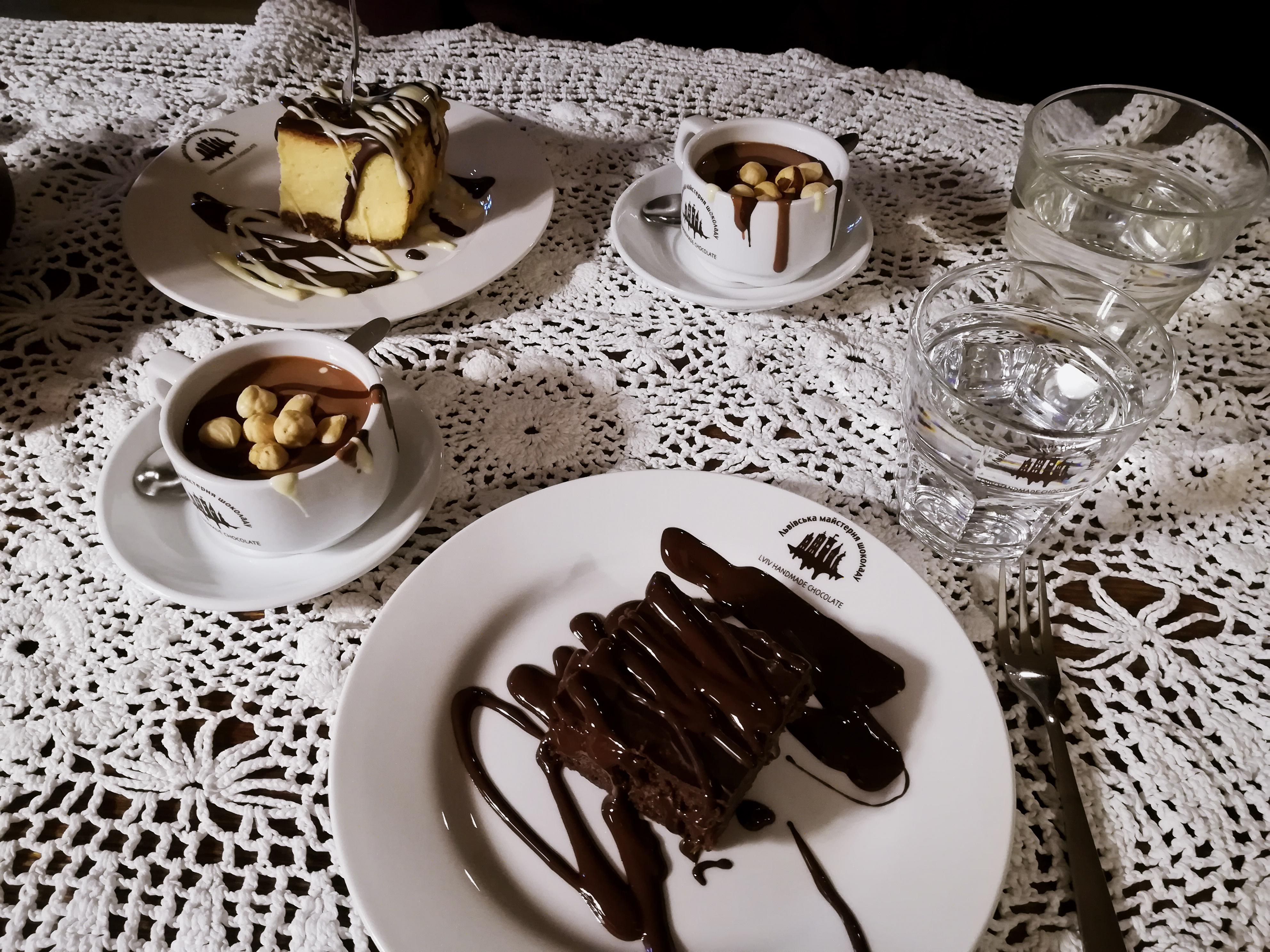 fabryka czekolady we lwowie - goraca czekolada