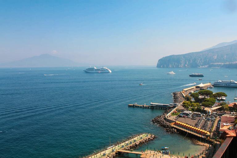 dojazd do Sorrento amalfi coast