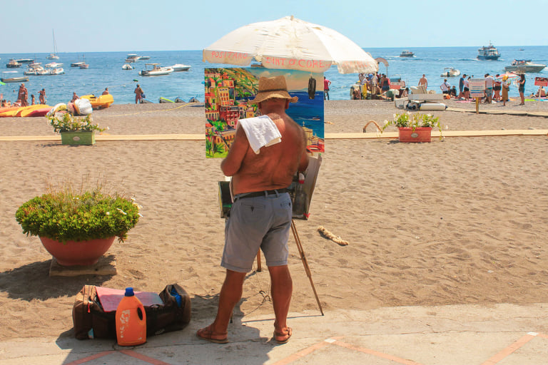 atrakcje w positano amalfi coast zwiedzanie atrakcje