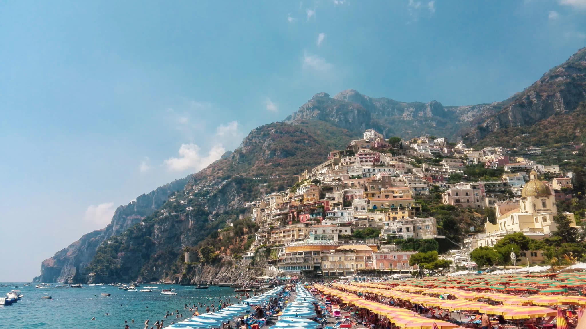 positano amalfi coast zwiedzanie atrakcje