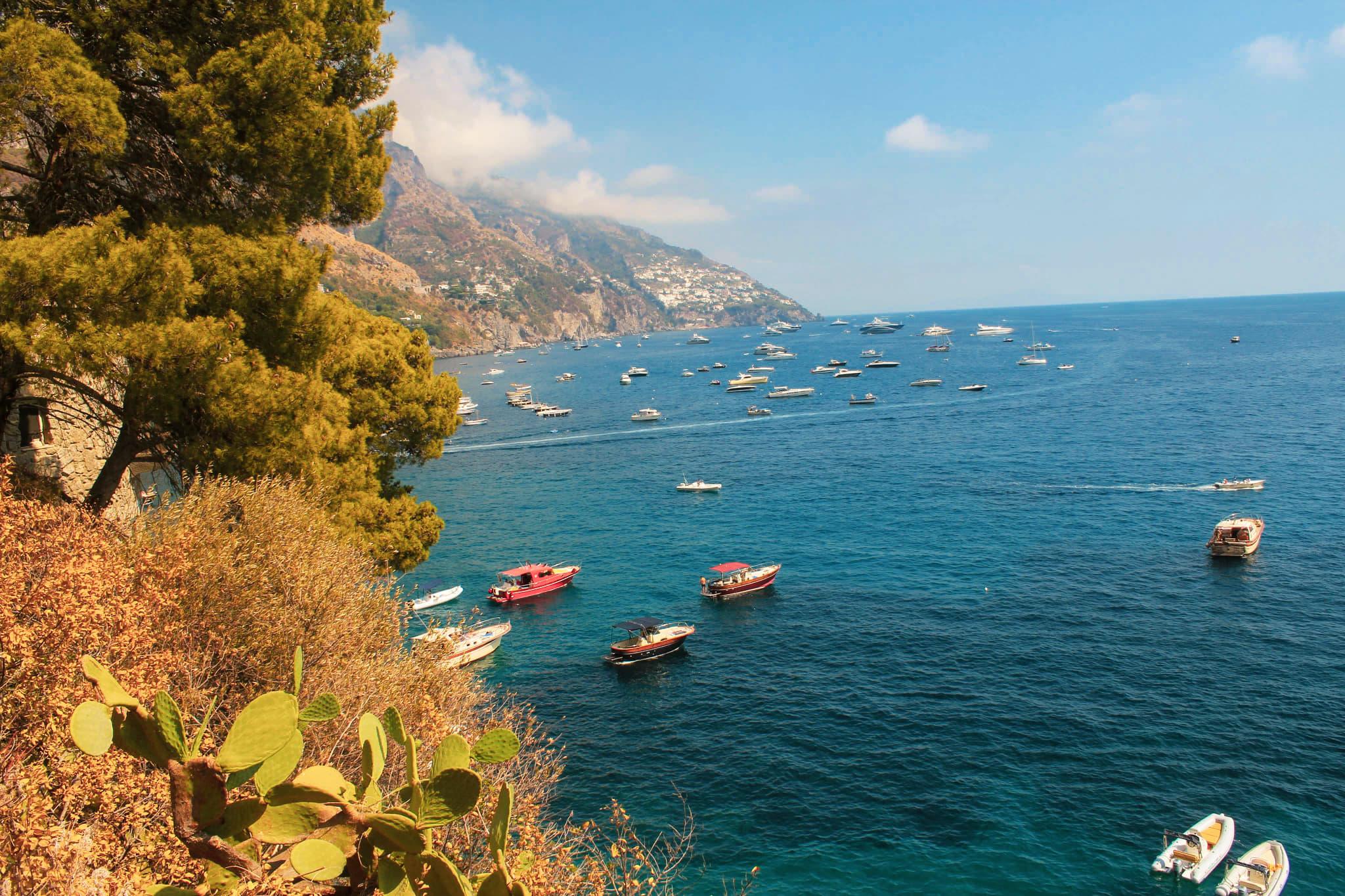 wakacje w positano amalfi coast zwiedzanie atrakcje