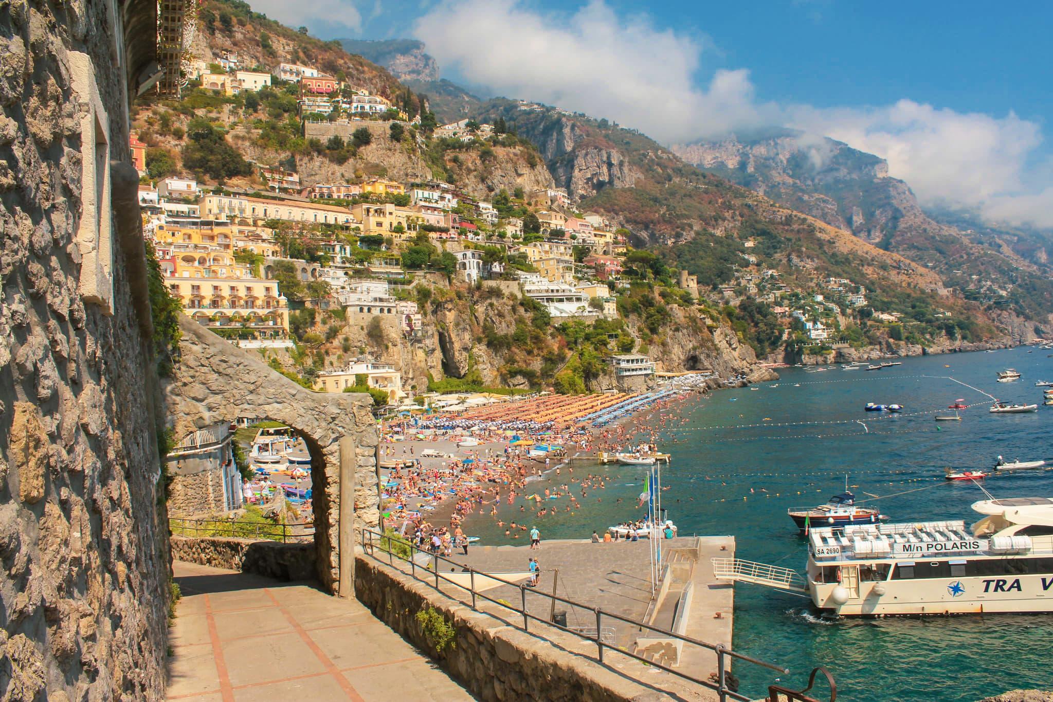 zwiedzanie positano amalfi coast zwiedzanie atrakcje